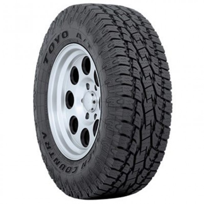 Toyo Tires - Open Country A/T II - P255/70R17 110S BSW