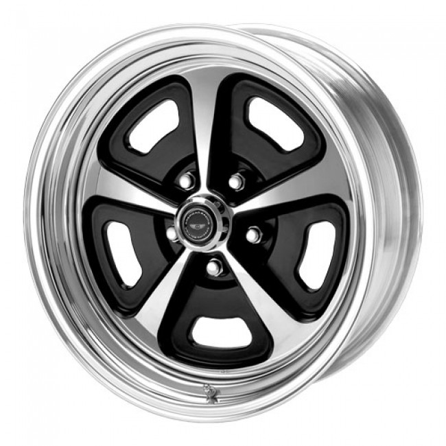 Roue American Racing AR500, argent polie