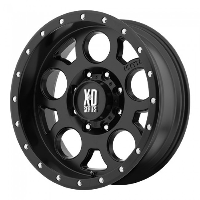 roue KMC Wheels Enduro Pro, noir satine