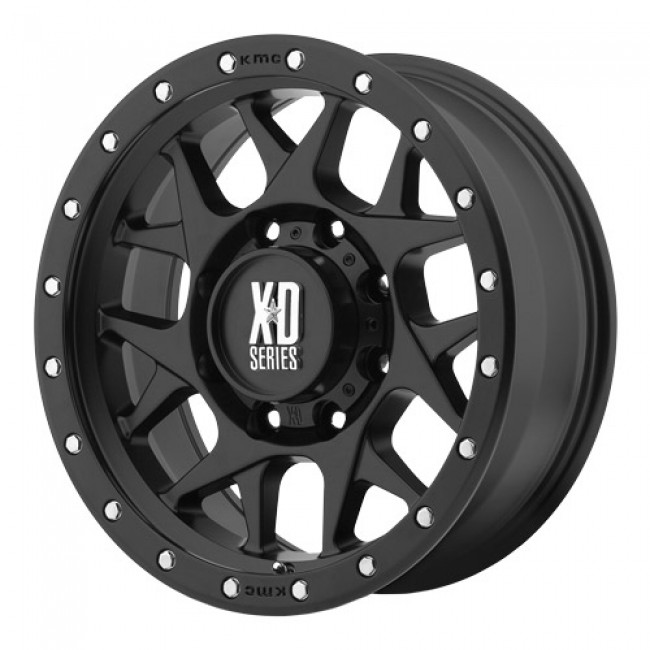 roue KMC Wheels Bully, noir satine