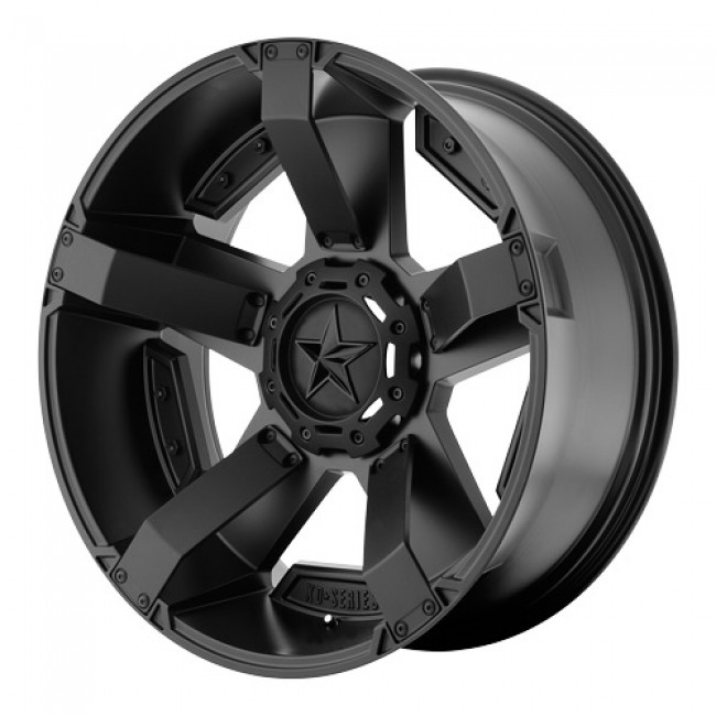 roue KMC Wheels RS2, noir satine