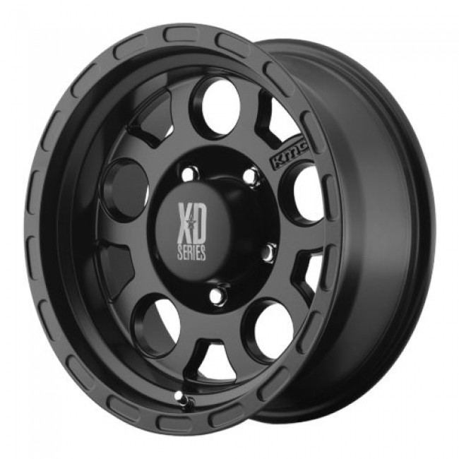Roue XD Series by KMC Wheels XD122 ENDURO, noir mat