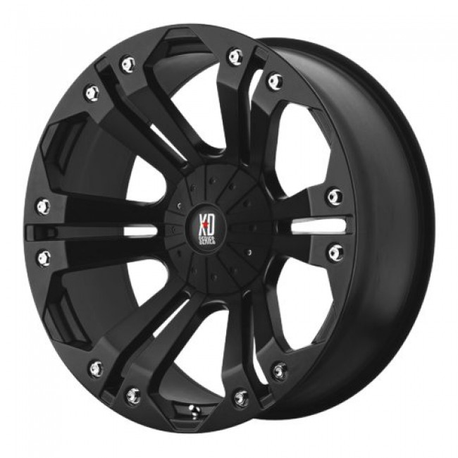 Roue XD Series by KMC Wheels XD778 MONSTER, noir mat