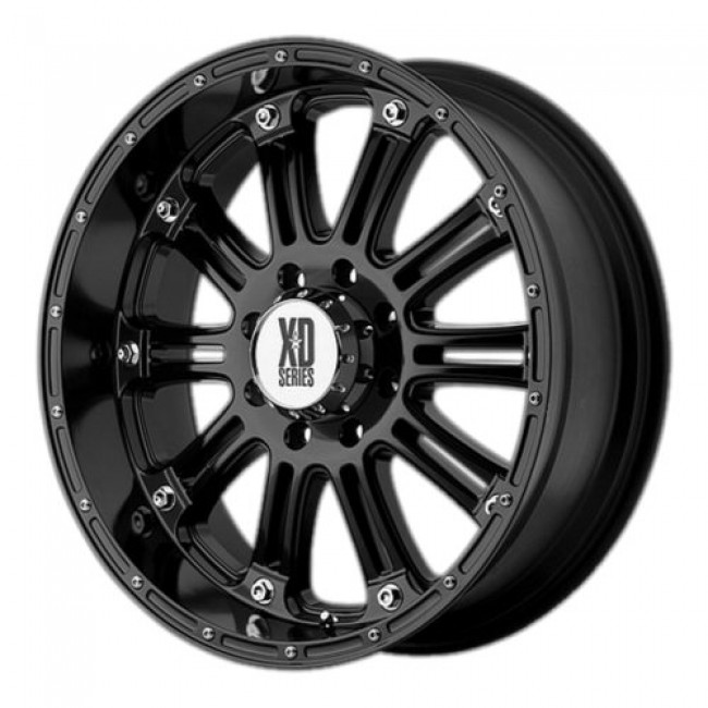 Roue XD Series by KMC Wheels XD795 HOSS, noir lustre