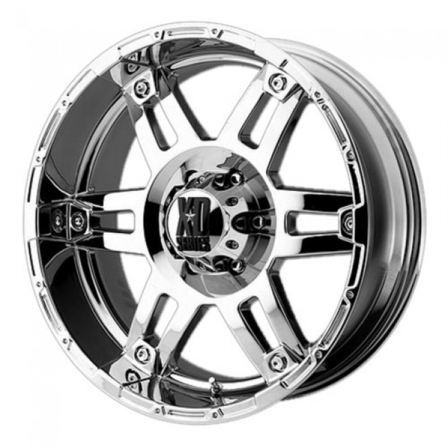 Roue XD Series by KMC Wheels XD797 SPY, chrome plaque