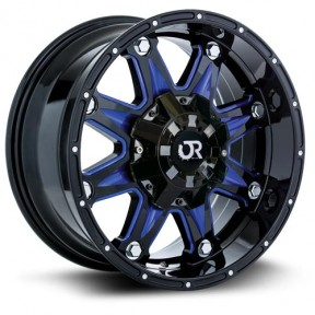 Roue RTX Wheels Spine blue accents
