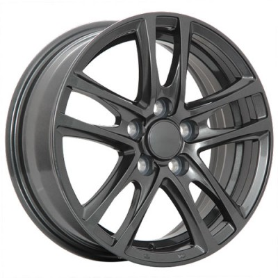 Dai Alloys OEM, Graphite/Graphite, 16X6.5, 5x114.3 (offset/deport 45), 64.1
