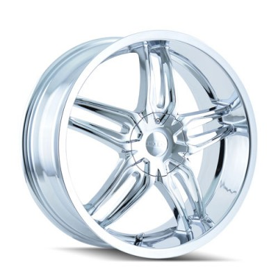 Roue Dip BIONIC, chrome (18X7.5, 5x108, 72.62, déport 40)