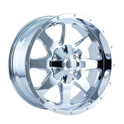 Roue Mayhem TANK, chrome (17X9, 6x139.7, 108.1, déport -12)