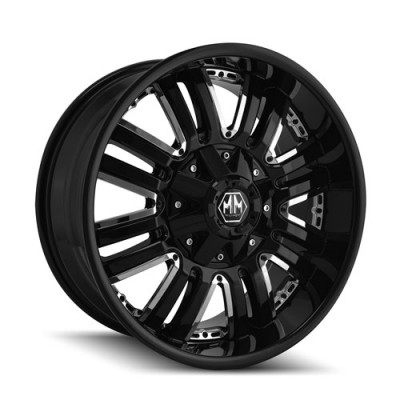 Roue Mayhem ASSAULT, noir (18X9, 6x139.7, 108.1, déport -12)