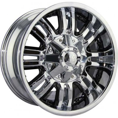 Roue Mayhem ASSAULT, chrome (18X9, 6x139.7, 108.1, déport -12)