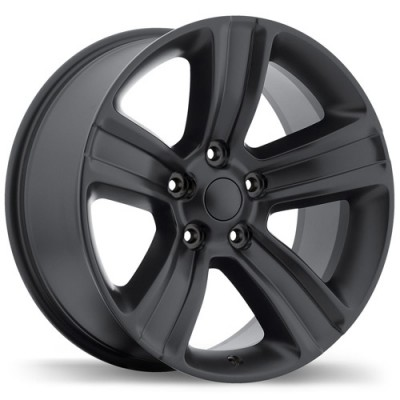 roue Replika Wheels R177, noir satine (20X9, 5x139.7, 77.8, déport 18)