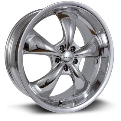 Roue RTX Wheels GT, chrome plaque (20X8.5, 5x114.3, 73.1, déport 35)