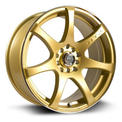 roue RTX Wheels Ink, or (16X7, 5x100/114, 73.1, déport 42)