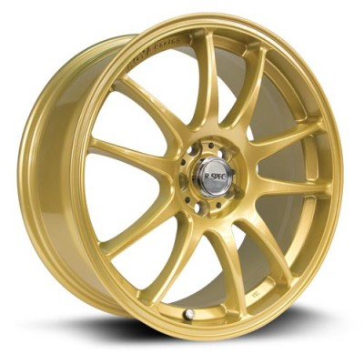Roue RTX Wheels Stag, or (17X8, 5x100/114.3, 73.1, déport 35)