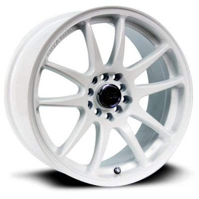 RTX Wheels Stag, Blanc/White, 17X9, 5x100/114.3 ( offset/deport 38), 73.1