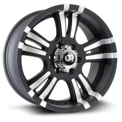 roue RTX Wheels ROAR II, noir machine (18X9, 6x139.7, 106.1, déport 25)