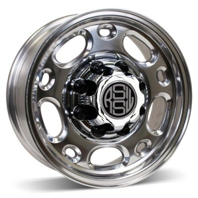 RSSW Flint Polished / Poli, 16X6.5, 8x165.1 ,(déport/offset 28 ) 117 Chevrolet / GMC