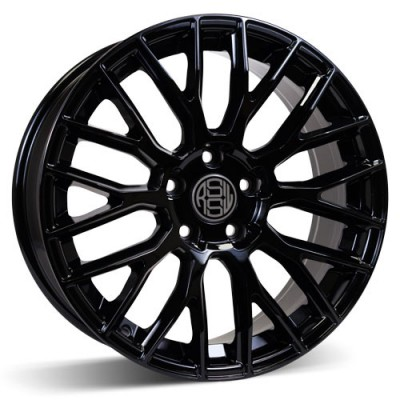RSSW Custom Gloss Black / Noir Lustré, 18X8, 5x120 ,(déport/offset 35 ) 67.1 Chevrolet / GMC