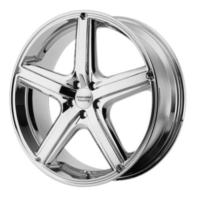 Roue American Racing AR883 MAVERICK, chrome (20X8.5, 5x114.3, 72.60, déport 40)