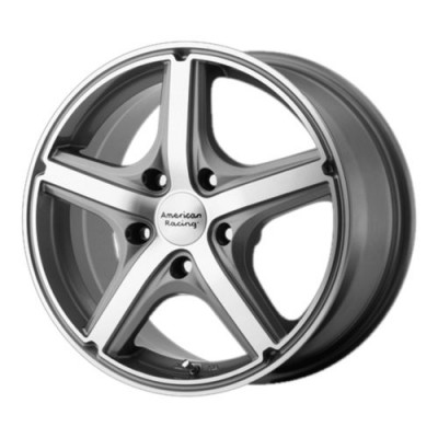 Roue American Racing AR883 MAVERICK, gris fonce machine (15X7, 5x114.3, 72.60, déport 40)