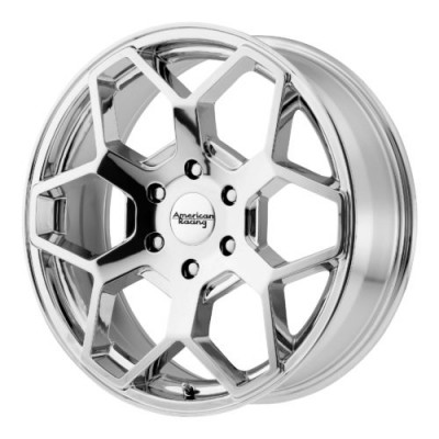 Roue American Racing AR916, chrome (22X9, 6x139.7, 106.25, déport 30)