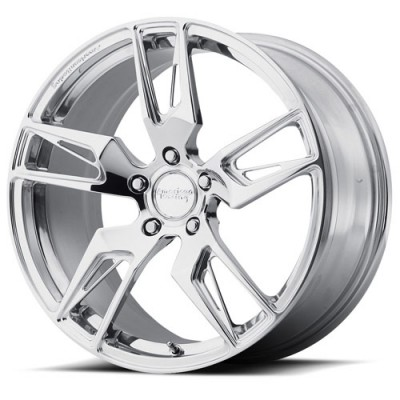 Roue American Racing Forged VF100 Scalpel, argent polie (19X9.5, 5x120.65, 72.6, déport 45.77)