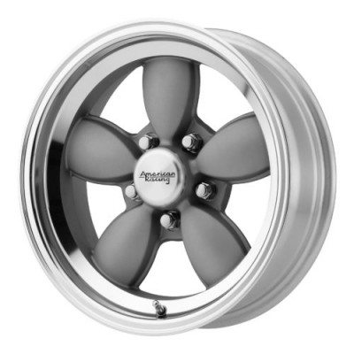 Roue American Racing VN504, gris machine (15X7, 5x114.3, 72.60, déport 0)