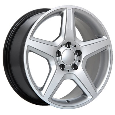 Roue Art Replica Wheels Replica 20, argent ultra (18X8, 5x112, 66.6, déport 45)