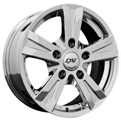 Roue Dai Alloys Concept 5, chrome (16X6.5, 5x127, 71.5, déport 35)
