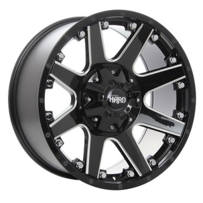 roue Ruffino Wheels Crew, noir lustre machine (17X9, 5x135/139.7, 87.1, déport 12)