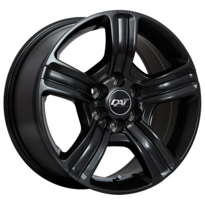 Dai Alloys Force Gloss Black/Noir lustré, 17X8.0, 5x139.7 ,(déport/offset25 )77.8