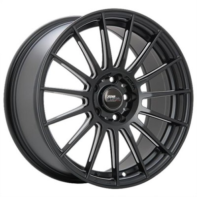 roue 720 Form GTF3, noir machine (17X7.5, 5x100, 73.1, déport 42)