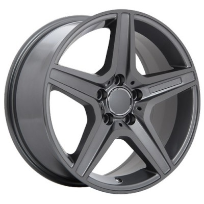 Roue Art Replica Wheels Replica 21, gris gunmetal (17X8, 5x112, 66.6, déport 35)