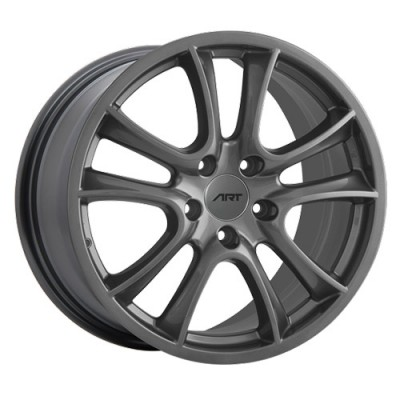 roue Dai Alloys Replica 46, gris gunmetal (18X8, 5x130, 71.5, déport 45)