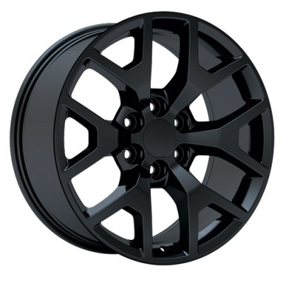 roue Art Replica Wheels R54, noir satine (24X10, 6x139.7, 78.1, déport 31)