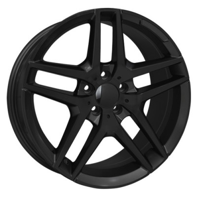 roue Art Replica Wheels Replica 60, noir lustre (18X8.5, 5x112, 66.6, déport 45)