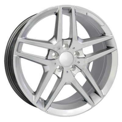 roue Art Replica Wheels Replica 60, argent (18X8.5, 5x112, 66.6, déport 35)