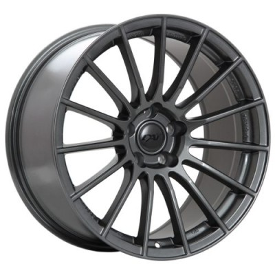 Roue Dai Alloys Renn, graphite (18X8, 5x114.3, 66.5, déport 35)