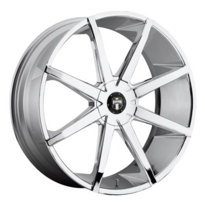 Roue DUB Push S111, chrome (24X9.5, 5x127/135, 87.1, déport 10)