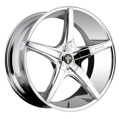 Roue DUB Rio 5 S112, chrome (18X8, 4x100/114.3, 72.6, déport 40)