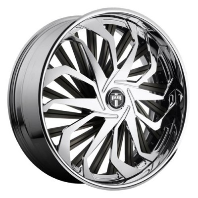 Roue DUB Sleeper S719, chrome (26X10, 5x127/135, 87.1, déport 5)