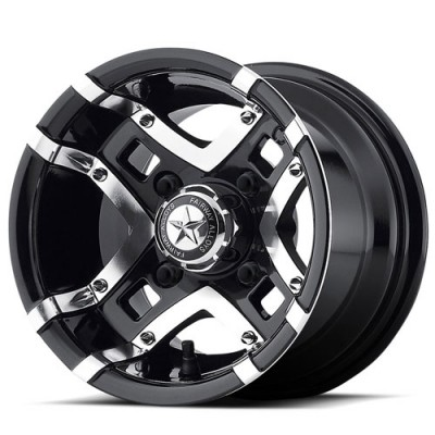 Roue Fairway Alloys FA123 Prestige, noir lustre machine (10X7, 4x101.6, 70.7, déport 11.01)