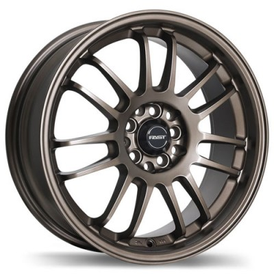 roue Fast Wheels Shibuya, bronze (17X7, 4x100/114.3, 72.6, déport 42)