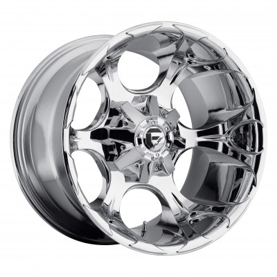 Roue FUEL Dune D522, chrome (20X10, 8x170, 125.2, déport -24)