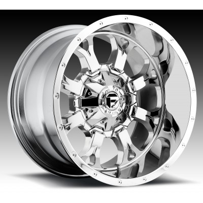 Roue FUEL Krank D516, chrome (17X9, 5x114.3/127, 78.1, déport -12)