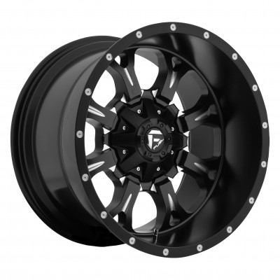 Roue FUEL Krank D517, noir machine (17X9, 8x170, 125.2, déport -12)