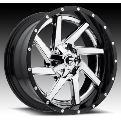 Roue FUEL Renegade D263, chrome (20X10, 8x170, 125.2, déport -19)