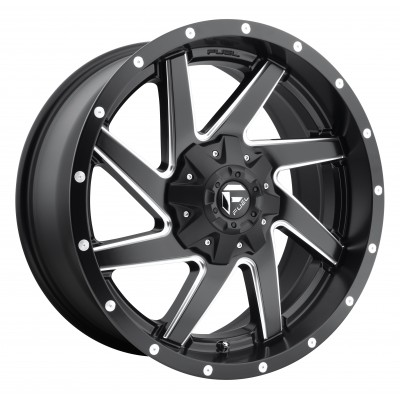 Roue FUEL Renegade D594, noir machine (17X9, 5x114.3/127, 78.1, déport -12)