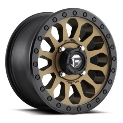 Roue FUEL Vector D600, bronze (17X8.5, 6x139.7, 108, déport 7)